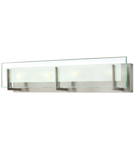Hinkley 5654bn Laude 4 Light 26 Inch Brushed Nickel Bath Wall