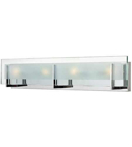 Hinkley 5654CM Latitude 4 Light 26 inch Chrome Bath Light Wall Light photo