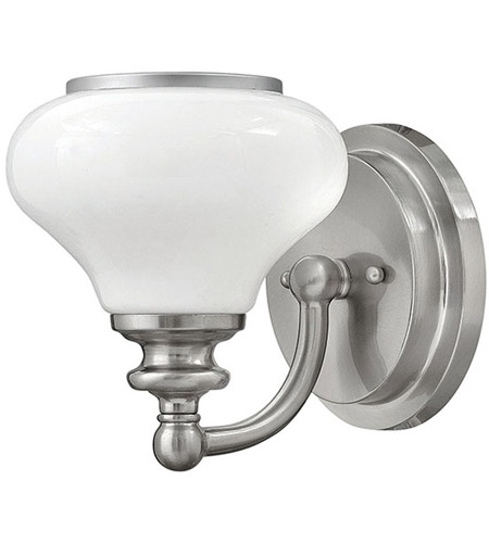 Hinkley 56550BN Ainsley 1 Light 8 inch Brushed Nickel Bath Sconce Wall Light photo