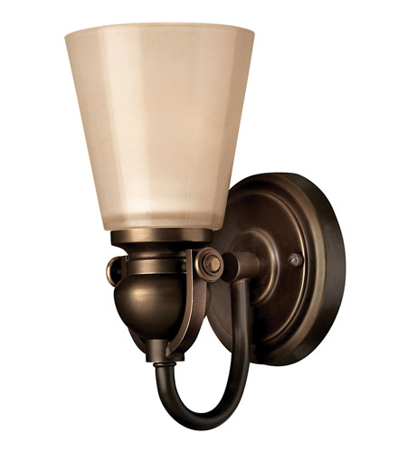 Hinkley 5670OB Mayflower 1 Light 5 inch Olde Bronze Bath Vanity Wall Light photo