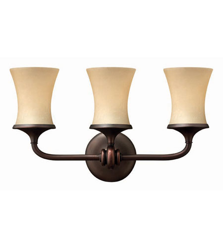 Hinkley Lighting Thistledown 3 Light Bath Vanity in Victorian Bronze 5683VZ
