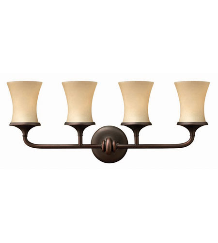 Hinkley Lighting Thistledown 4 Light Bath Vanity in Victorian Bronze 5684VZ photo