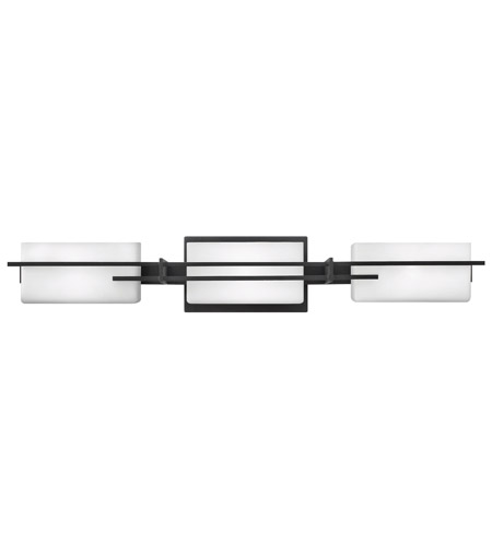 Hinkley Lighting Mason 3 Light Bath Vanity in Textured Black 5693TB