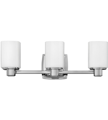 Hinkley 57133CM Tessa 3 Light 22 inch Chrome Bath Light Wall Light photo