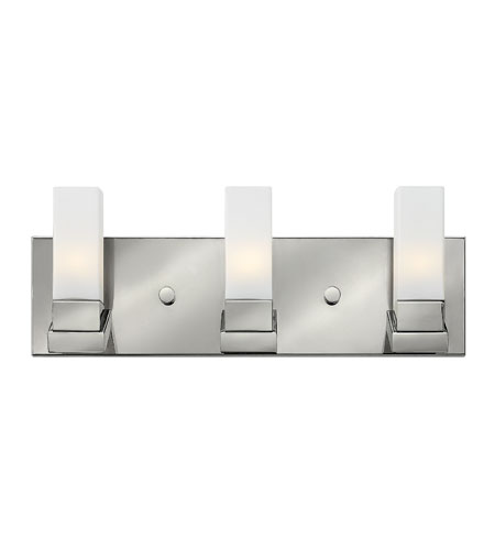 Hinkley Lighting Omni 3 Light Bath in Polished Nickel 57203PN photo