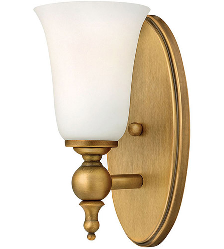 Hinkley 5740BR Yorktown 1 Light 5 inch Brushed Bronze Bath Sconce Wall Light photo