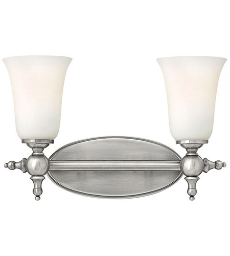 Hinkley Lighting Yorktown 2 Light Bath Vanity in Antique Nickel 5742AN