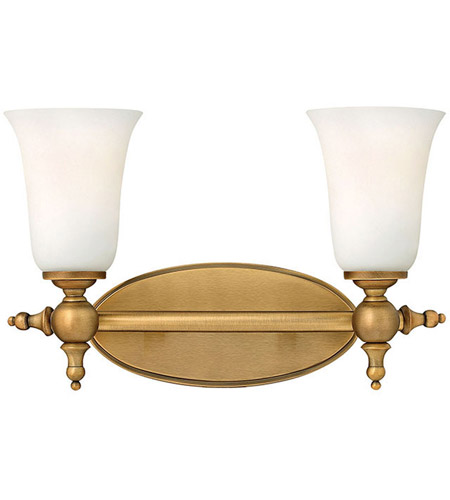 Hinkley 5742BR Yorktown 2 Light 16 inch Brushed Bronze Bath Light Wall Light photo