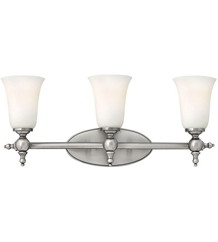 Hinkley 5743AN Yorktown 3 Light 24 inch Antique Nickel Bath Vanity Wall Light photo