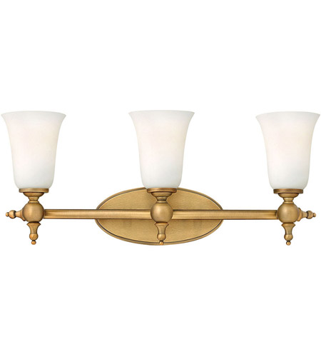 Hinkley 5743BR Yorktown 3 Light 24 inch Brushed Bronze Bath Vanity Wall Light photo