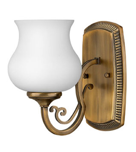 Hinkley Lighting Olivia 1 Light Bath Vanity in Brushed Bronze 5750BR