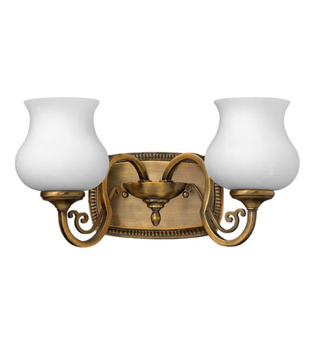 Hinkley Lighting Olivia 2 Light Bath Vanity in Brushed Bronze 5752BR