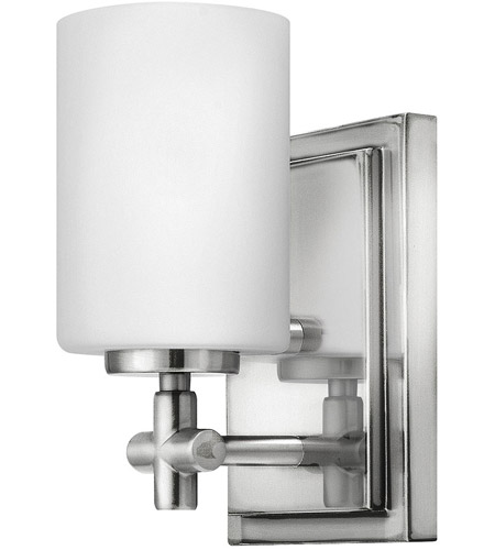 Hinkley 57550PN Laurel 1 Light 5 inch Polished Nickel Bath Sconce Wall Light photo
