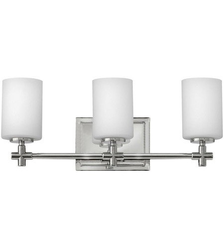 Hinkley 57553pn Laurel 3 Light 20 Inch Polished Nickel Bath Wall