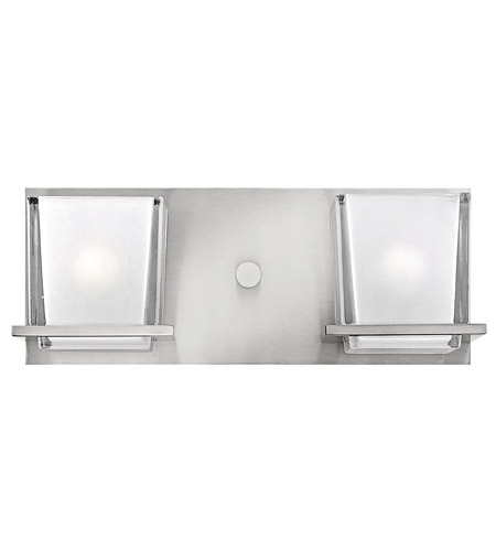 Hinkley 5772BN Lola 2 Light 14 inch Brushed Nickel Bath Vanity Wall Light photo