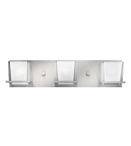 Hinkley Lighting Lola 3 Light Bath Vanity in Brushed Nickel 5773BN photo