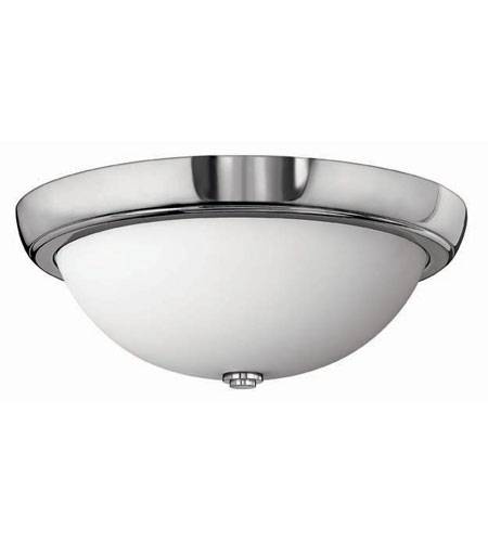 Hinkley Lighting Anna 3 Light Flush Mount in Chrome 5781CM photo