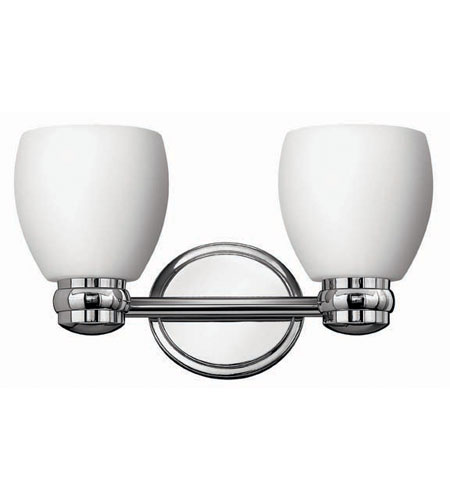 Hinkley Lighting Anna 2 Light Bath Vanity in Chrome 5782CM