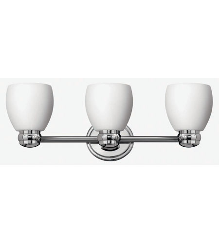 Hinkley Lighting Anna 3 Light Bath Vanity in Chrome 5783CM