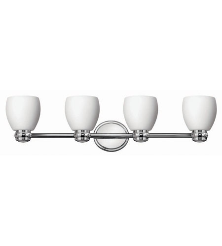 Hinkley Lighting Anna 4 Light Bath Vanity in Chrome 5784CM photo