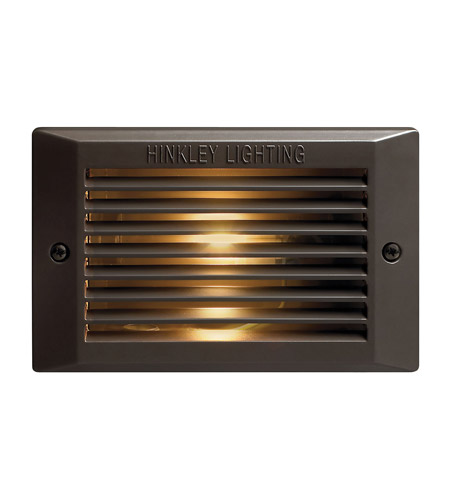 Hinkley 58009BZ Signature 120V 9 watt Bronze Step, Line Volt photo