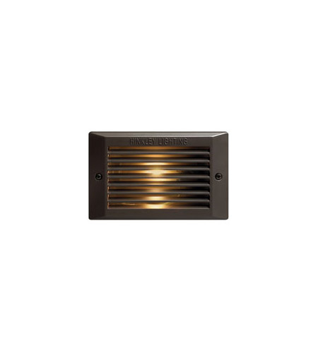 Hinkley 58015BZ-LED Signature 120V 3.8 watt Bronze Landscape Deck in LED, Line Voltage photo