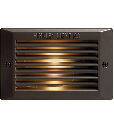Hinkley Lighting Signature 1 Light Line Volt Step in Bronze 58025BZ photo