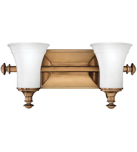 Hinkley 5832BR Alice 2 Light 17 inch Brushed Bronze Bath Light Wall Light photo