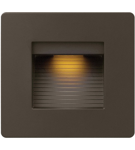 Hinkley 58506BZ Luna 120V 4 watt Bronze Landscape Deck, Line Voltage photo