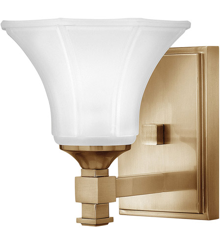 Hinkley 5850BC Abbie 1 Light 7 inch Brushed Caramel Bath Sconce Wall Light photo