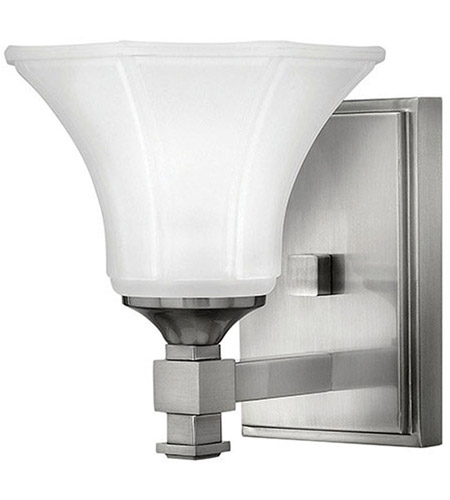 Hinkley Lighting Abbie 1 Light Bath Vanity in Brushed Nickel 5850BN