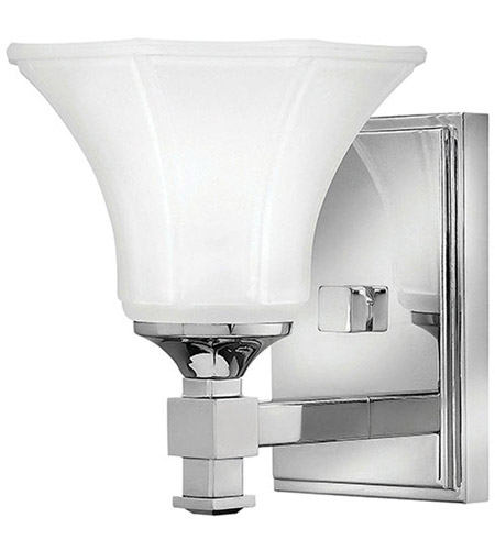 Hinkley 5850CM Abbie 1 Light 7 inch Chrome Bath Sconce Wall Light photo