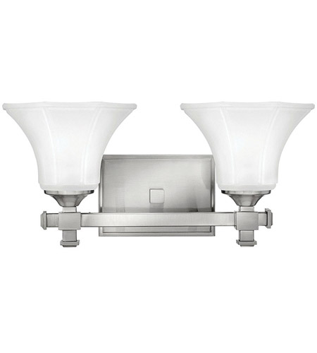 Hinkley Lighting Abbie 2 Light Bath Vanity in Brushed Nickel 5852BN photo