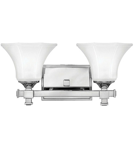 Hinkley Lighting Abbie 2 Light Bath Vanity in Chrome 5852CM