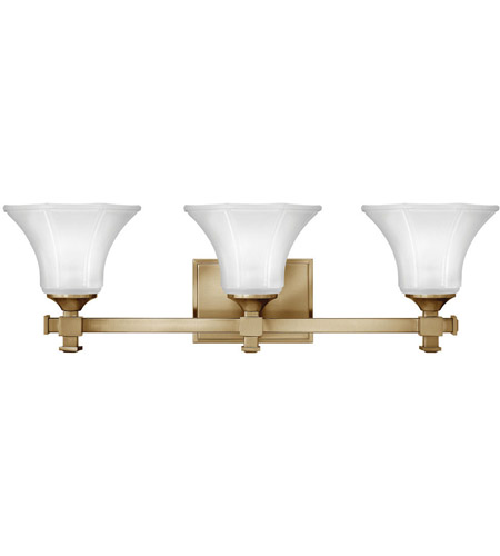 Hinkley 5853BC Abbie 3 Light 25 inch Brushed Caramel Bath Light Wall Light photo