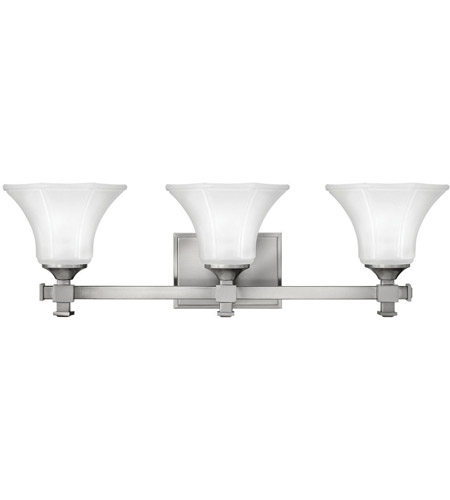 Hinkley Lighting Abbie 3 Light Bath Vanity in Brushed Nickel 5853BN photo