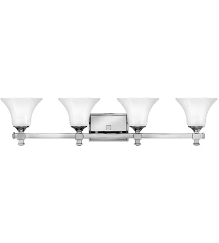 Hinkley 5854CM Abbie 4 Light 35 inch Chrome Bath Light Wall Light photo