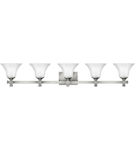 Hinkley Lighting Abbie 5 Light Bath Vanity in Brushed Nickel 5855BN