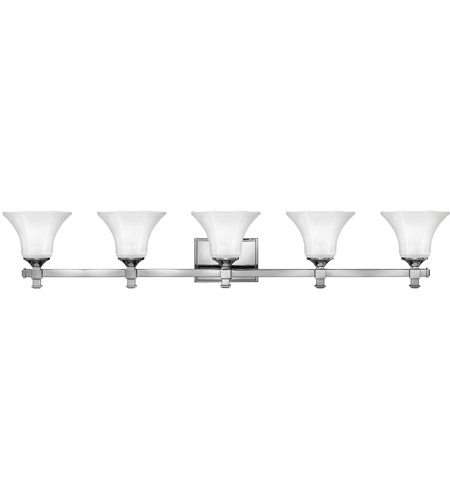 Hinkley Lighting Abbie 5 Light Bath Vanity in Chrome 5855CM