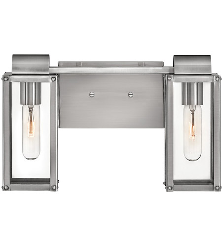 Hinkley Lighting Addison 2 Light Bath Vanity in Polished Antique Nickel 5862PL