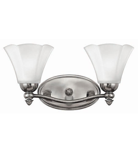 Hinkley Lighting Bloom 2 Light Bath Vanity in Polished Antique Nickel 5872PL