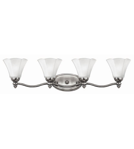 Hinkley Lighting Bloom 4 Light Bath Vanity in Polished Antique Nickel 5874PL photo