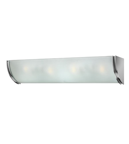 Hinkley Lighting Zara 4 Light Bath Vanity in Chrome 5884CM photo