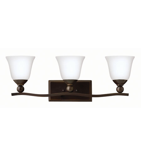 Hinkley Lighting Bolla 3 Light Bath in Olde Bronze 5893OB-OP-LED2