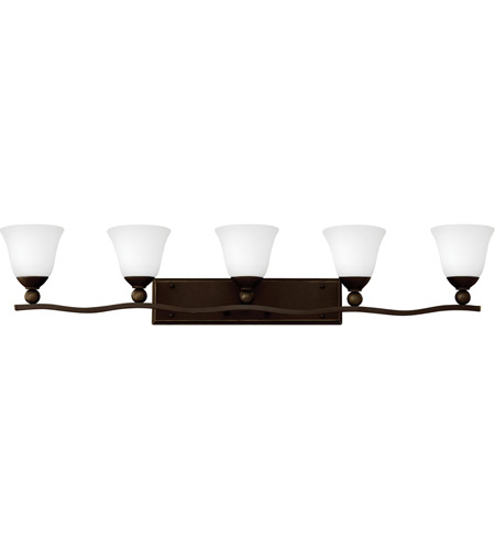 Hinkley Lighting Bolla 5 Light Bath in Olde Bronze 5895OB-OPAL