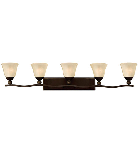 Hinkley Lighting Bolla 5 Light Bath Vanity in Olde Bronze 5895OB
