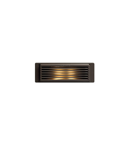 Hinkley Lighting Brick 1 Light Line Volt LED Deck in Bronze 59024BZ-LED photo