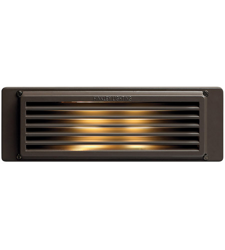 Hinkley Lighting Brick 1 Light Line Volt Deck in Bronze 59040BZ photo