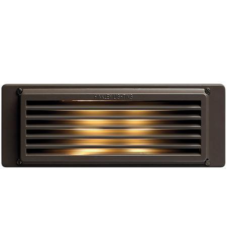 Hinkley Lighting Brick 1 Light Line Volt Deck in Bronze 59040BZ