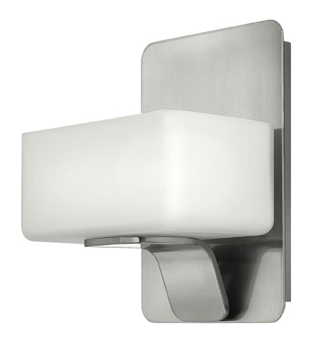 Hinkley Lighting Envy 1 Light Bath Vanity in Brushed Nickel 5910BN